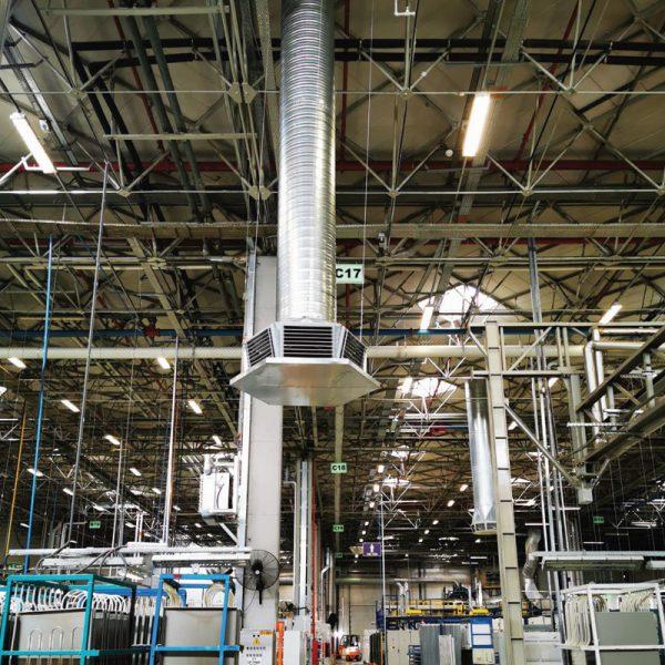 SPRINGDAY S400 Endüstriyel Evaporatif Hava Soğutucu