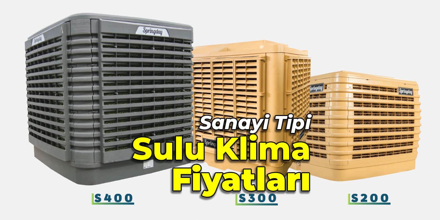 Sanayi Tipi Sulu Hava Soğutucu Fiyatları